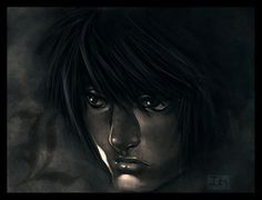 Death Note L Lawliet, Sad Art, Death Note, Favorite Tv Shows, Anime, Movie Posters, Sad Artwork, Film Poster, Popcorn Posters