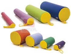 Rodillos Sensory para salas de Integración Sensorial y Terapia Ocupacional. Sensory Rooms, Wooden Toys, Papi, Children, Fitness, Cerebral Palsy, Occupational Therapy, Health, English Class
