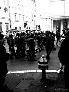 Manifestation, Rome