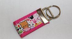 Super Kawaii Animal Mini Keychain Key Fob by RedShirtCreations