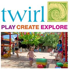 Has free playground and free indoor play space (donations). Educational toy store on site