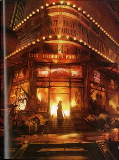 Bioshock Infinate environment comps. Heavy and creative use of photos.