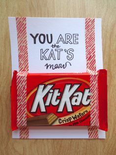 kit kat valentine ideas - Google Search