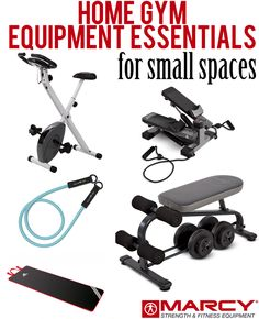 How To Create A Home Gym On A Budget Gym Workout And Garage Gym - Small home gym equipment