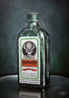 Jagermeister painting by straewefin on DeviantArt