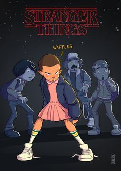 STRANGER THINGS | Netflix 'A perfect mix of misfit kids and science fiction'…
