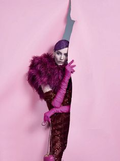 """collections-from-vogue: """"COLLECTION Zuzanna Bijoch in """"Nao Provoque… E Cor De Rosa-Shocking!"""" by Zee Nunes for Vogue Brazil, February 2014 """" Fashion Foto, High Fashion, Editorial Photography, Fashion Photography, Glamour, Frou Frou, Models, Editorial Fashion, Fashion Editor"""