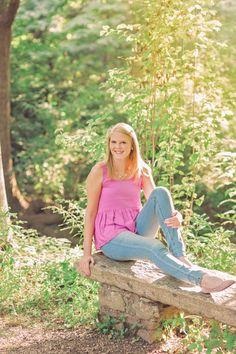 Asheville, NC Senior Photography| Spring Senior Portraits|  Kathy Beaver Photography