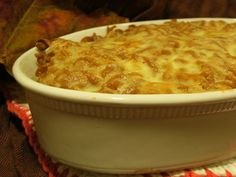 Lower Fat Baked Mac and Cheese