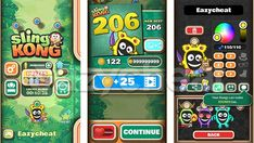 Sling Kong Cheat Unlimited Coins, Lives, Boosters, All Kongs Unlocked htpps://ezche.at/slingkong Played Yourself, Scores, Cheating, Games, Life, Gaming, Toys