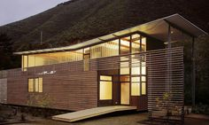 The retreat is in the Big Sur region of Northern California - #architecture