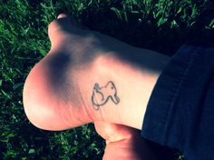 Bunny tattoo <3