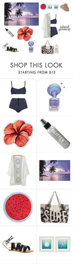 """""""Beach please"""" by sblabla ❤ liked on Polyvore featuring Lisa Marie Fernandez, LaMont, Dorothy Perkins, Rip Curl, Billabong and Maison Margiela"""