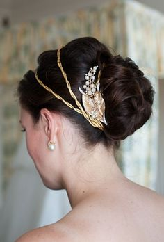 30 Awesome Vintage Wedding Hairstyles Ideas | LOVE, LOVE, LOVE