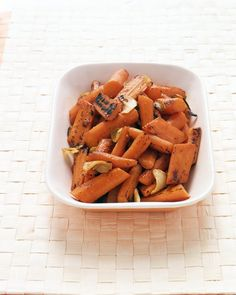 Grilled Carrots with Ginger