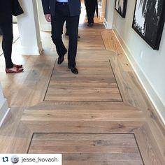 Beautiful inlay floor