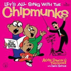 Let's All Sing With The Chipmunks, 1960 Grammy Awards Childrens - Best Musical Album For Children winner, Ross Bagdasarian Sr., artist. #GrammyAwards #GoodMusic #Music