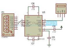 Human Detection Robot Circuit Diagram - Transmitter Section