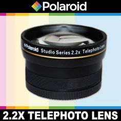 Introducing Polaroid Studio Series 22X High Definition Telephoto Lens Includes Lens Pouch and Cap Covers For The Canon EOSM Mirrorless Camera Which Has The 1855mm Canon EFM Lens. Great Product and follow us to get more updates!