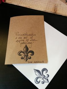 Whimsical Quote 'Just Because' Cards by SplatteredDaisies on Etsy