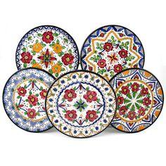 Hand Painted Spanish Plates.