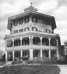 Mt St Agnes Baltimore Octagon Building 1942