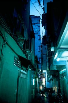 street in Ho Chi Minh city, Vietnam / photo by Thiery Beyne