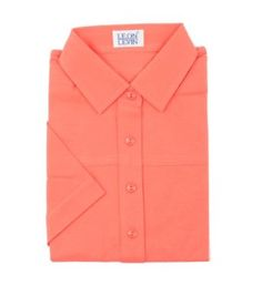 Leon Levin Classic Ladies Polo Shirt-canyon rose-Small Leon Levin. $44.95