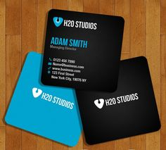 Free Mini Business Cards PSD