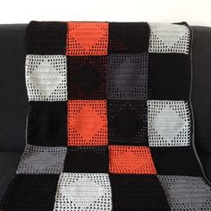 DIY crochet blanket - great colors and pattern