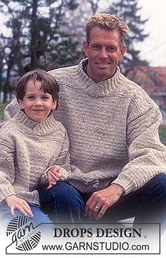 DROPS Adult's Sweater in Angora-Tweed ~ DROPS Design