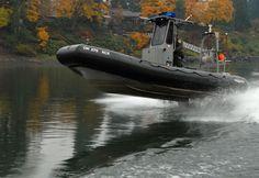 "Clackamas County Sheriff's Office (OR)  Marine Unit boat ""Jimmy Shoop.""    www.setcomcorp.com"