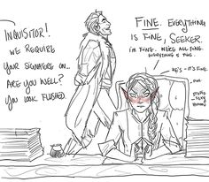 dragon age artists on tumblr dragon age inquisition da:i