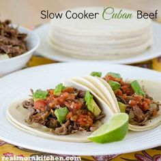 Slow Cooker Cuban Beef - Real Mom Kitchen