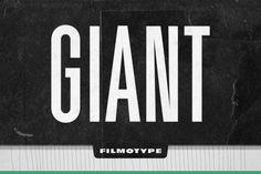 Filmotype Giant . I'm a sucker for condensed sans-serif fonts.