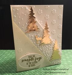 Carols of Christmas Gold Foil inspiration