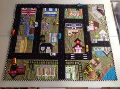 Matchbox car playmat. Finally finished!
