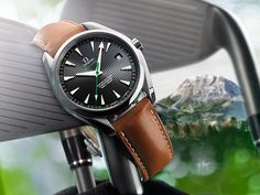 "OMEGA Watches: The Omega Seamaster Aqua Terra ""Golf"""