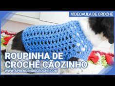 Diy Crochet, Crochet Hats, Crochet Dog Clothes, Cat Sweaters, Crochet Patterns, Dogs, Tequila, Barbie, Youtube
