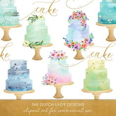 Watercolor Wedding Cake, Decoration Photo, Image Editing, Clipart Images, Paper Design, Digital Image, Background Images, Designing Women, Scrapbook Paper