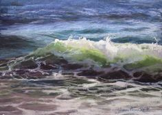 Joy of Summer (pastel) by Jeanne Rosier Smith