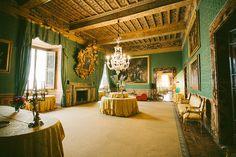 Rome, Italy - Palazzo Taverna interior (by Christian Lozañes)