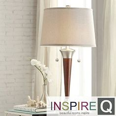 Siam Circus INSPIRE Q Kedzie Brushed Nickel Contoured Base 2-light Accent Table Lamp http://www.amazon.com/Siam-Circus-INSPIRE-Brushed-Contoured/dp/B00LSZ0DF8/ref=aag_m_pw_dp?ie=UTF8&m=A11H5Q5IRWSOJM