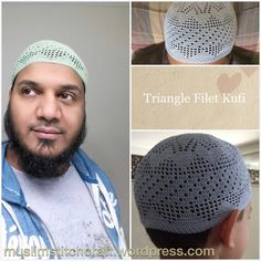 Currently working on writing out the #pattern for my new #crocheted #kufi #muslim #prayer #cap made from #auntlydiascrochetthread #crochetersofinstagram #muslimstyle  Don't forget to visit my blog! by muslim.stitchcraft
