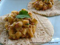 Cocina Costarricense: Picadillo de Guineo y chorizo
