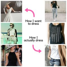 My fashion dilemma. #thestruggleisreal