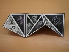 """Triangle Brochure by Yeo Tze Hern - geometric booklet inspiration (book set up like a grid - """"plane went off the grid so to speak"""")"""