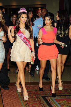 6b9c40817c661 Wanna look like a Kardasian at your Bachelorette Party  Kim s Sash Tiara  are at The