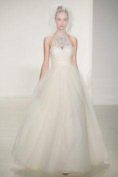 6 trends para vestidos de novia de la Bridal Week FW14 PRINCESS BRIDE. Amsale Otoño / Invierno 2014