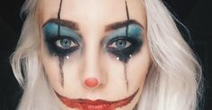 My costume for Halloween this year was inspired by unhinged clowns, bazaar circus performers and vintage freak show carnivals. The makeup ...